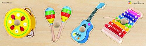 - Edushape Giant Puzzle Music Instruments