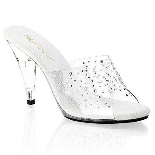 Heels-Perfect - Pantuflas de caña alta de material sintético mujer transparente - Transparent (transparent)