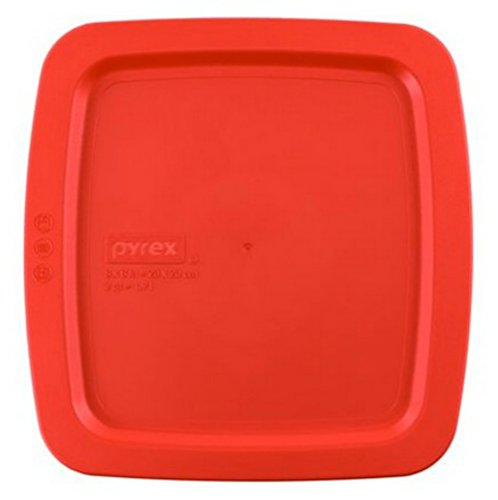 Pyrex Easy Grab Red Plastic Lid Cover for 8