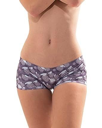 Croota Women's Seamless BoyShorts Underwear, Comfy Designer Panties, WUAK01S