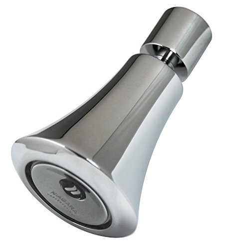 AM Conservation Group N2150 Luxury Spa All Metal High Efficiency Showerhead by AM Conservation Group