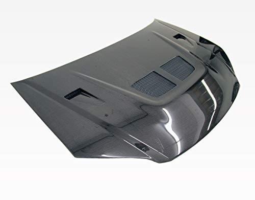 VIS Racing (VIS-SCY-810) Black Carbon Fiber Hood EVO Style for Honda Civic 2DR & 4DR 04-05