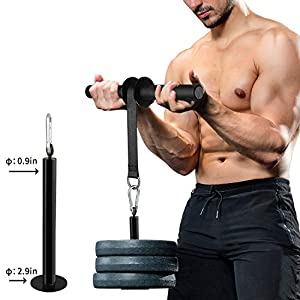 PELLOR Forearm Wrist Roller, Forearm Exerciser and Wrist Roller Fitness with Anti-Slip Hand Grip, Wrist Strength Trainer…