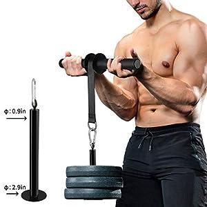 PELLOR Forearm Workout Arm Blaster Exerciser, Bearing Rope Arm Muscle Strength Training Fitness Equipment, Anti-Slip…