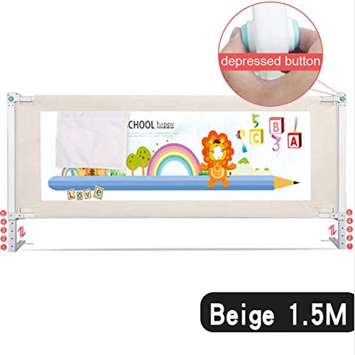 Home Safety Baby Care - WANGYONGQI Baby Bed Fence Home Kids playpen Safety Gate Products Child Care Barrier for beds Crib Rails Security Fencing Children Guardrail,A
