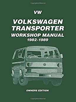 volkswagen transporter workshop manual 1982 1989 owners workshop rh amazon com vw transporter service manual free vw transporter service manual