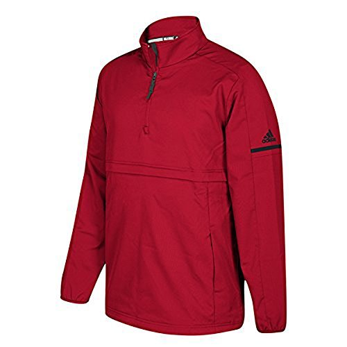 Gb 1/4 Zip Jas Pwr Rood / Blk