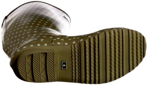 Unbekannt Spot - Botas de caucho para mujer Verde