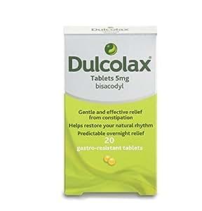 Amazon Com Dulcolax Bisacodyl Tablets 5mg 20 Tablets