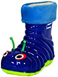 Children's Waterproof Rain Boots Cartoon Animals Toddler/Little Kid (25 (7 M US Toddler), Blue)