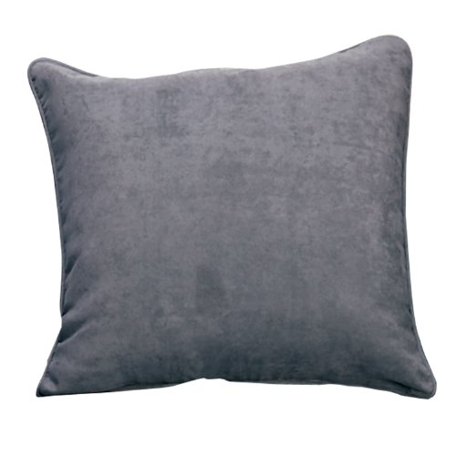 (SureFit Soft Suede - Pillow Slipcover - Smoke Blue)
