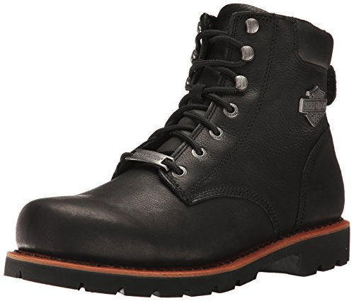 Harley-Davidson Men's Vista Ridge Work Boot, Black, 10.5 M - Stores Vista Ridge