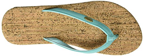 O'Neill Fw Cork Bed Flip Flop - Chanclas Mujer Grün (TURQUOISE)