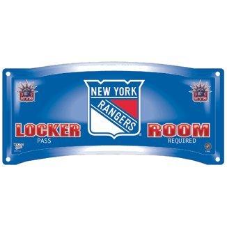 New York Rangers Locker room sign