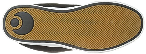OSIRIS Skateboard Shoes CASWELL VLC BLACK/BROWN/WHITE