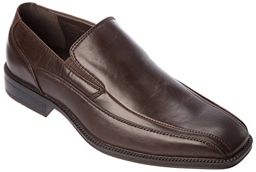 Alberto Fellini Uomo Mocassini-scarpe Slip On Mocassini Fashion Dress Shoes Coffee