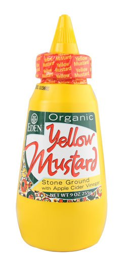 Eden Yellow Mustard, Organic, Squeeze - Store Eden