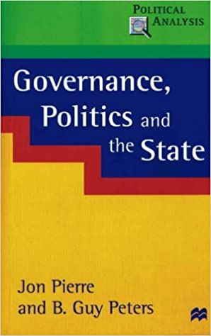 Book Governance, Politics and the State (Political Analysis) by Jon Pierre (21-Jun-2000)