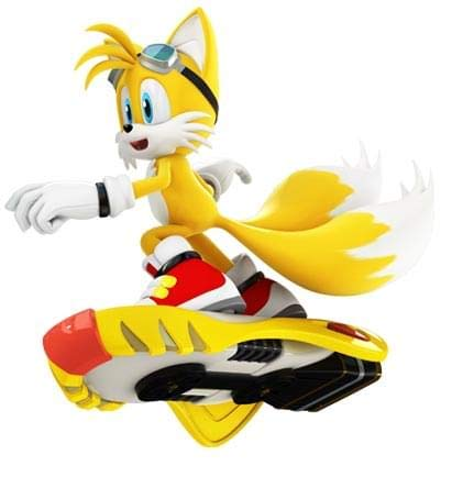 Sonic Free Riders-Miles Tails Prower Action Figure]()