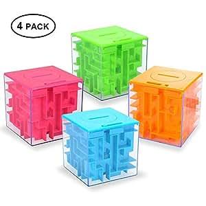 Amazon.com: Puzle con caja, Twister.CK - Puzle con soporte ...