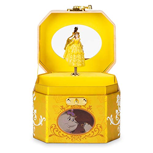 - Disney Belle Musical Jewelry Box No Color