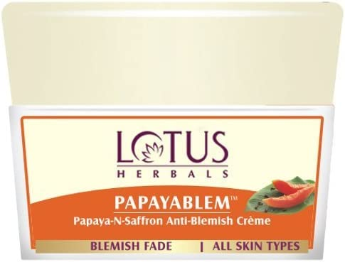 Amazon.com: Lotus Herbals Papayablem Papaya-n-Saffron ...