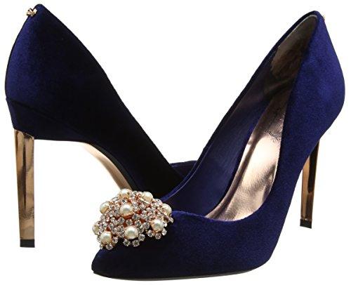 Blue Heels Women''s toe Peetch Baker navy Ted Closed RPT1zSq