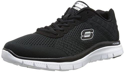Skechers Schwarz Advantage Bkw Sneakers Herren nbsp;Covert Action Flex pgwAp8Tx