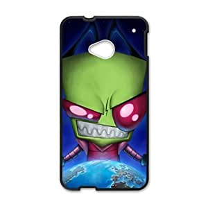 Earth Invader Cell Phone Case for HTC One M7