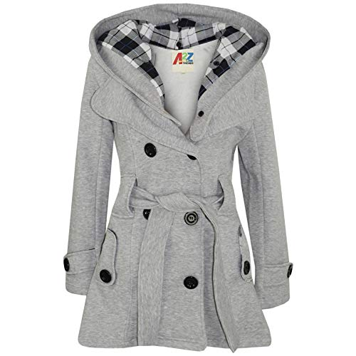 A2Z 4 Kids® Kinderen Meisjes Parka Jassen Met Capuchon Modieus Coats Mode Wol Mengsels Warme Gewatteerd Jas Oversized…