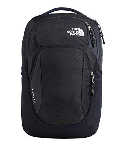 The North Face Pivoter Backpack, Urban Navy Light Heather/TNF White (The Best North Face Backpack For School)