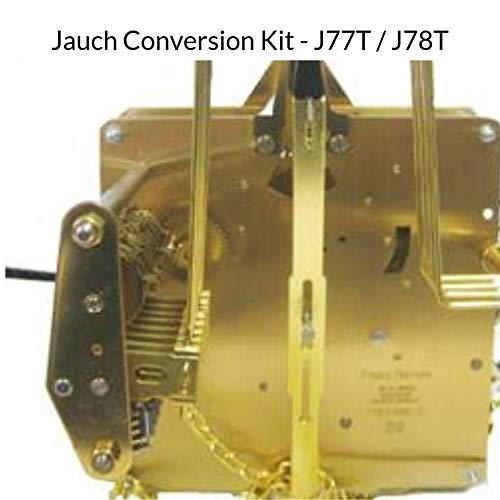 Qwirly Store: J-77T Jauch Conversion Movement Mechanism Kit for Jauch Grandfather - Unit Conversion to Hermle 1151-050.94cm Triple Chime by QWIRLY (Image #1)