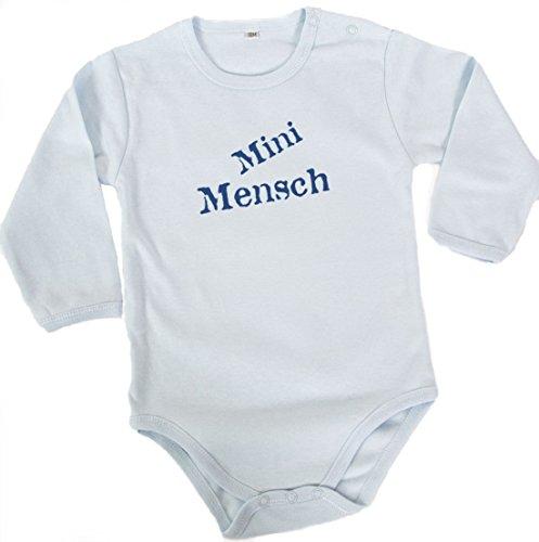 Barbara Shaw Gifts 'Mini Mensch' Baby Bodysuit (0-3 Months) ()