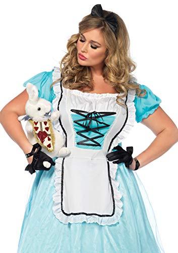 Leg Avenue Women's Costume, Blue/White, 1X / ()