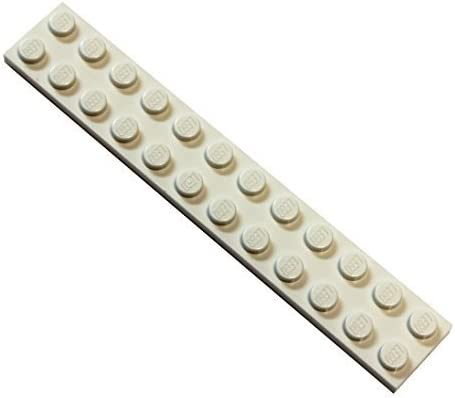 LEGO Parts and Pieces: White 2x12 Plate x100