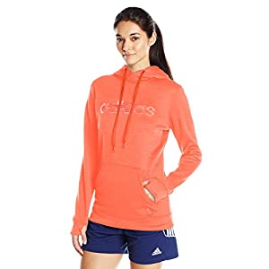 adidas Women's Team Issue Fleece Logo Pullover Hoodie