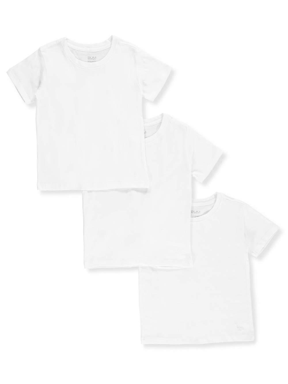 BUM Equipment Big Boys' 3-Pack Crew-Neck T-Shirts