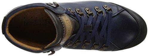 Pikolinos Zapatillas Blue para W67 Mujer Blue Lisboa Azul i17 Altas rA4qwr1n