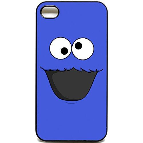 iPhone 4 / 4S, Motiv Krümelmonster / Sesamstraße, Case, Motiv: Muppets querky