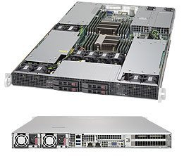 Brand new Supermicro 1U Barebone SuperServer 1028GR-TRT with full warranty