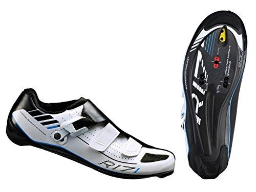 Scarpe Bici Da Bici Da Strada Shimano Spd Sh-r 171w Gr 40 Bianco