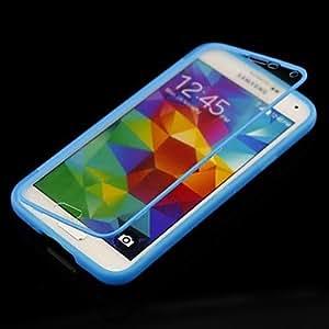 GX Teléfono Móvil Samsung - Carcasas de Cuerpo Completo - Transparente - para Samsung S5 i9600 ( Negro/Blanco/Azul/Púrpura/Rosa , Plástico ) , Purple