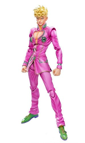Medicos JoJo's Bizarre Adventure: Part 5--Golden Wind: Giorno Giovana Super  Action Statue