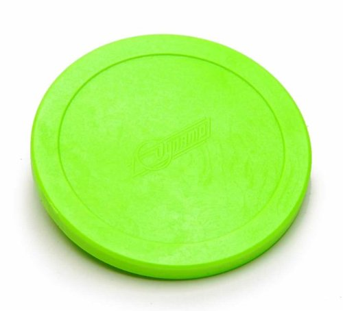 2 Dynamo Large Pucks -- 1 White and 1 Green