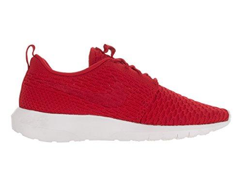 Nike Roshe NM Flyknit, Scarpe Sportive Uomo Rosso (Rojo (Rojo (Unvrsty Red/Unvrsty Rd-white)))