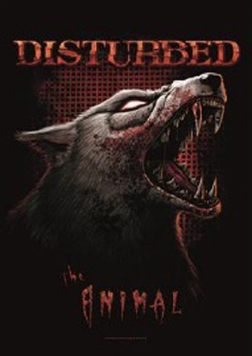 Disturbed ~ The Animal ~ Fabric Poster ~ New!