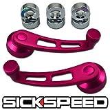 79 camaro louvers - 2 Pink Billet Aluminum Window Crank Handle Winder For Truck/Car Pickup Door for Chevrolet Camaro