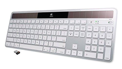 Logitech Wireless Solar Keyboard K750 for Mac - Silver (Certified Refurbished)