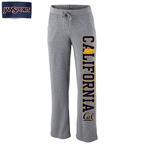 Shop College Wear UC Berkeley Cal Jansport Women's Dreamer Pants- Gray (Jansport Big Bear)