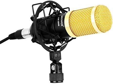 Neewer NW-8000 Profesional kit de micrófono de radiodifusión para ...